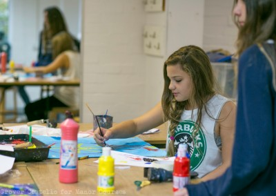 enslish summer school art Activities