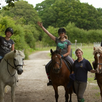 Manor Courses Horse Riding