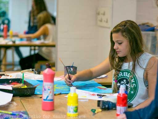 English summer school art Activities